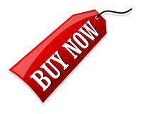Buy Now. Illustration of a buy label Royalty Free Stock Image