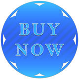 Buy now button Royalty Free Stock Photography
