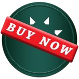 Buy now button. In a blue circle with arrows on a white background Royalty Free Stock Photo