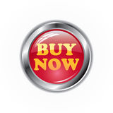 Buy now button. Isolated on white background Royalty Free Stock Photography