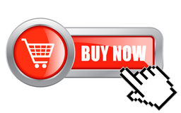 Buy now button Royalty Free Stock Photos