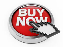 Buy now button Royalty Free Stock Images