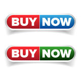 Buy Now button set vector Royalty Free Stock Image