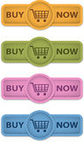 Buy now buttons Stock Photos