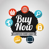 Buy now design. Illustration eps10 graphic Stock Photo