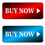 Buy now icons Royalty Free Stock Image