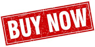 Buy now stamp Stock Photography