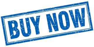 Buy now stamp Royalty Free Stock Images