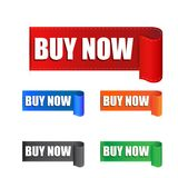 Buy now sticker. Royalty Free Stock Images