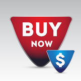 Buy now vector button Stock Images