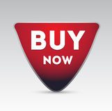 Buy now vector button Stock Photography