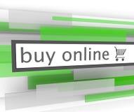 Buy Online Bar - Website Shopping Cart