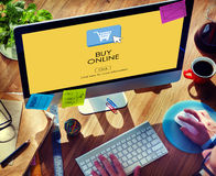 Buy Online Business Digital Technology Internet Concept Stock Photography