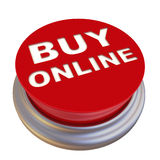 Buy online. Red button labeled Royalty Free Stock Image