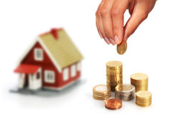 Buy real estate. Royalty Free Stock Image