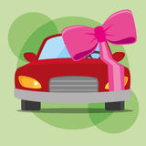Buy or rent a car business. Illustration graphic design royalty free illustration
