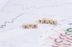 Buy and sell Stock Images