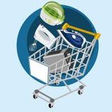 Buy small appliances stock illustration