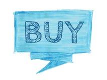 Buy speech bubble royalty free stock photography