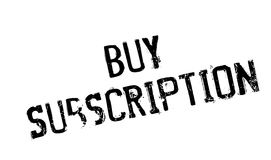 Buy Subscription rubber stamp Royalty Free Stock Image