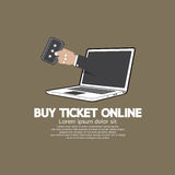 Buy Ticket Online Concept Royalty Free Stock Photo