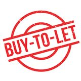 Buy-To-Let rubber stamp Stock Image
