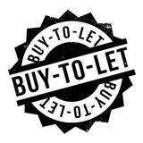 Buy-To-Let rubber stamp Royalty Free Stock Image