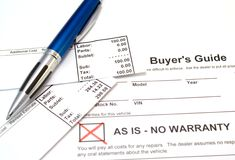 Buyer Beware Royalty Free Stock Images