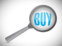 Buyer review concept illustration design Royalty Free Stock Photography