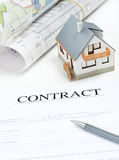 House contract Royalty Free Stock Image