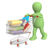 Buying of books Stock Photography
