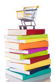 Buying books Royalty Free Stock Photo