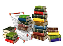 Buying of books Royalty Free Stock Images