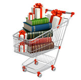 Buying of books Stock Images