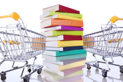 Buying books Stock Images