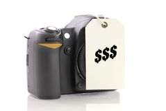 Buying A Camera Stock Photography
