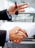 Buying a car Royalty Free Stock Images