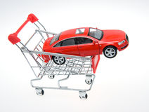 Buying a car Royalty Free Stock Photo