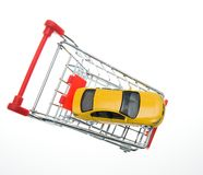 Buying a car Stock Photography