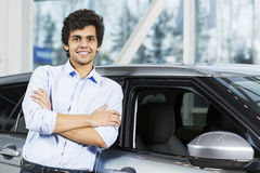 Buying car Royalty Free Stock Images