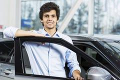 Buying car Royalty Free Stock Photo