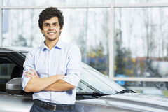 Buying car Royalty Free Stock Photography
