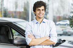 Buying car Stock Photography