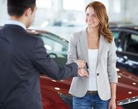 Buying a car Royalty Free Stock Photography