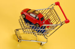 Buying cars Royalty Free Stock Photos