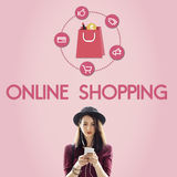 Buying Consumerism Discount Merchandising Shopping Concept Royalty Free Stock Photos