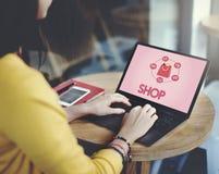 Buying Consumerism Discount Merchandising Shopping Concept Stock Image