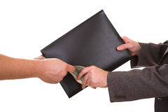 Buying folder Stock Image