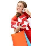 Buying gifts Stock Photo