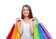Buying gifts Stock Photos